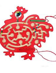 grosse bite labyrinthe magnétique en bois jouets éducatifs