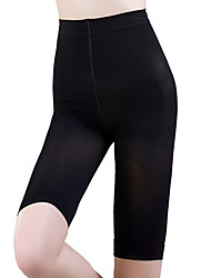 Women'S Adjustable Mid Waist Seamless Corset Fat Burning Pants Abdomen Drawing Stovepipe Butt-Lifting Pants Black NY028