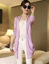 Women's In The Long Sleeved Knit Cardigan Sweater