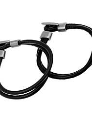 European  20cm Men's Black,Brown Leather Leather Bracelet(Black,Brown)(1 Pc)