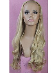 3/4 Wig Long High Quality Big Wave Female Elegant Fashion Synthetic Celebrity Wig