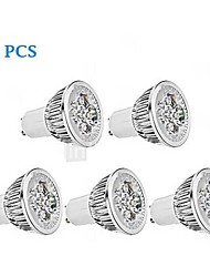 5W GU10 / E26/E27 LED Spotlight MR16 1 350-400 lm Warm White / Cool White AC 85-265 V 5 pcs
