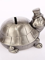 Personalized Ring Bearer  The Turtle Ashbury Metal  Piggy Bank