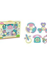 colorées multi-forme les enfants bague de bébé des jouets de cloche