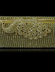 Women's Bridal Purse Metal Pure Color Sexlady Handbags