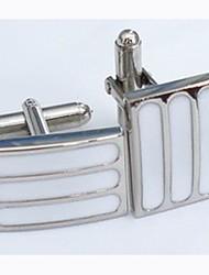 Groom/Groomsman Good Quality Brass Cufflinks (More Colors)