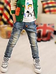 Boy's Fashion Classical Union Flag Jeans