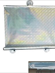 carking retrátil carro veículo rolo janela guarda-sol protetor cego ™ com ventosas (50 * 125)