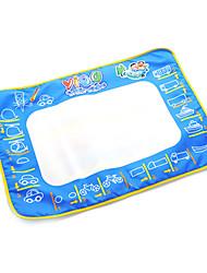 50 * 70 * 2cm de los niños tablero de dibujo del agua del aquadoodle pluma mágica juguetes de la novedad con pinturas de autobús (paquete de la caja)