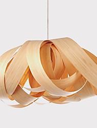 l'inspiration placage lustre, e27 1 restaurant lumineux lumière, la lumière de la salle, 55cm