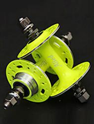 Alied 32 Holes Fluorescein Bearing Fixed Gear Front and Rear Hub