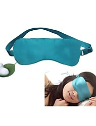 Sweet-Natured Home®100% Silk Universal Sleep Goggles Shading Goggles Two Layers And Foldable 1 pc Sale
