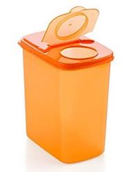 1 couleurs de pièces à grande surface de stockage contenant de plastique