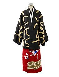 Gintama Shinsuke Takasugi Kimono Cosplay Costume