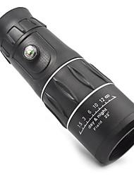 16X52 mm Binoculares Monocular Compás BAK4 Revestimiento Completo 66m/8000m