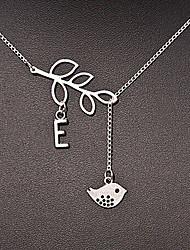 Shixin® Vintage Fish Leaf Shape Pendant Necklace(1 Pc)