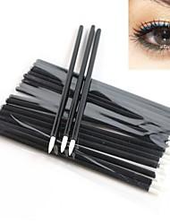wegwerp eyeliner brush 100 stuks / pak eyeliner make-up tools applicator