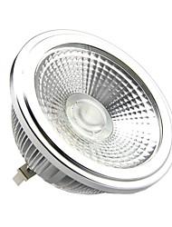 15W G53 LED Spot Lampen AR111 1 COB 1500LM lm Warmes Weiß DC 12 / AC 12 V