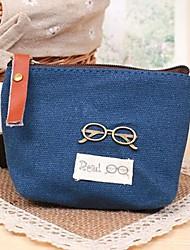 Women's Retro Zipper Coin Purse Key Case Storage Bag