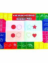 45 * 29 * Aquadoodle colorido mágico de 1 cm de los niños con 3 plumas juguetes de la novedad educativos (3 bolígrafos)