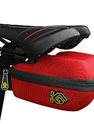 COOLCHANGE Red Cycling Hard Shell Saddle Bag
