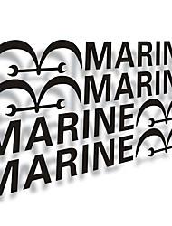 puertas marinos del coche al palo. (4pc)