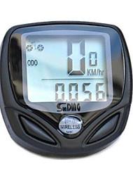 Беспроводной ЖК-велосипед спидометр одометр водонепроницаемый цикл спидометр велосипед компьютер