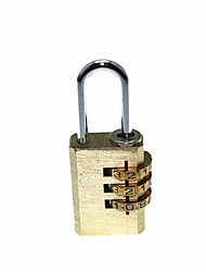Copper Luggage PIN Combination Pad Lock