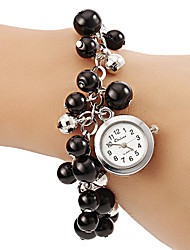 Women's Pearl Style Alloy Band Quartz Bracelet Watch Cool Watches Unique Watches Fashion Watch