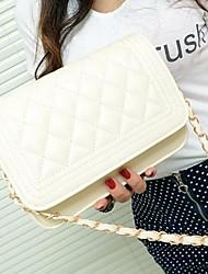 moda reticolo bordo ricamare linea donna Coway mini bag semplice