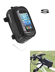 ROSWHEEL bolsa nova tela de toque de atualização sela para telefone celular w / fone de ouvido buraco s tamanho 4.2inch