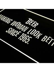 j308 bière rend les femmes regardent mieux nouveau bar signe lumière