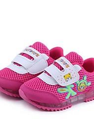 De kinderen platte hak comfortabele transparante onderkant anti-slip sportschoenen (drie kleuren)