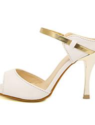 moda dedos de los pies descalzos de Lobo mujeres delgadas de la sandalia de tacón alto