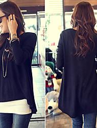 FINEJO Women's Fashion Asymmetrical Style T-Shirt