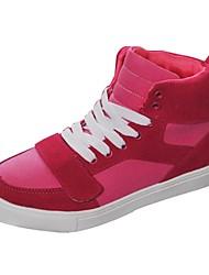Zapatos de mujer - Tacón Plano - Comfort - Sneakers a la Moda - Casual - Semicuero - Rosa