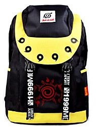 Naruto Naruto Uzumaki Black & Yellow Cosplay Backpack/Bag