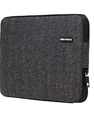 gearmax® laptop preto caso capa manga para macbook air / pro