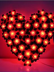 LED String Light 36 Lights Modern Rose Shape Plastic 220V