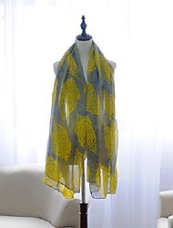 Women's New Fashion Cashew Nuts Printed Casual Voile Scarves