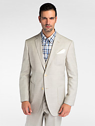 Gray Wool Tailored Fit Blazer