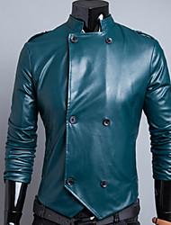 homens dda lapela pescoço tudo combinando lazer casaco