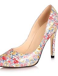 zapatos de las mujeres del dedo del pie en punta stiletto talón bombea los zapatos