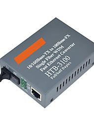 hhx htb-3100 25 km de modèle unique fibre de fibre unique émetteur-récepteur optique