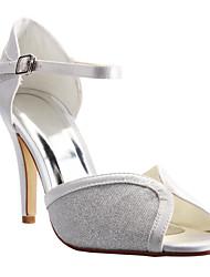 Women's Wedding Shoes Peep Toe/Platform/Ankle Strap Sandals Wedding/Dress/Party & Evening Black/Red/Silver/Gold