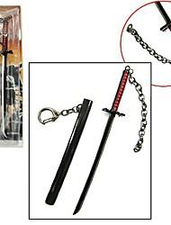 Bleach Ichigo Kurosaki 17cm Black Key Chain Cosplay Accessories