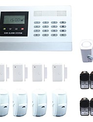 Wireless Intelligent Anti-thief Burglar GSM Alarm System