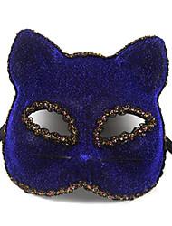 Halloween costume léopard avec un masque de partie de l'œil (couleurs assorties)