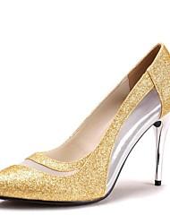 Da donna Scarpe da sposa Tacchi/A punta Scarpe col tacco Matrimonio Blu/Viola/Rosso/Argento/Dorato