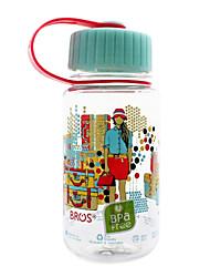 Bros ™ 350ml Garrafa Esporte filhos de plástico Tea Bebidas Água Transparente
